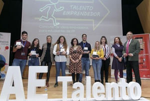 El proyecto 'Geoparking' de estudiantes de FP de Córdoba premiados en el concurso 'Talento Emprendedor'