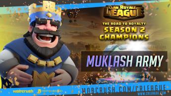 El reciente campeón del mundo de clubes de Clash Royale, Muklash Army, firma con eSports Playmakers