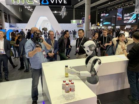 El robot inteligente XR1 de INNFOS se revela en el MWC