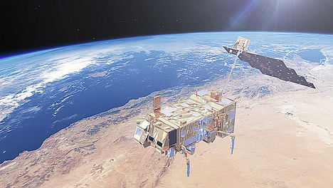 El tercer satélite meteorológico europeo ya está en órbita