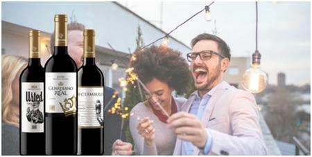 El vino tinto es el favorito para el 53% de los españoles en sus celebraciones navideñas frente al blanco o al rosado