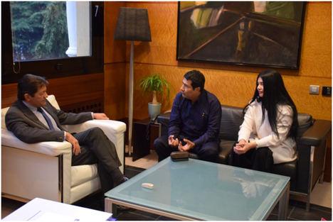 El Embajador de Nicaragua en España sostiene un encuentro con el Presidente del Principado de Asturias