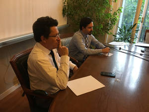Embajador de Ecuador aclara sus declaraciones a los líderes de asociaciones y plataformas hipotecarias