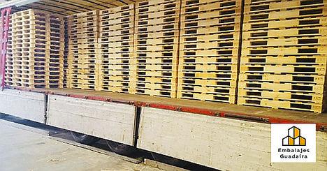 Embalajes Guadaíra: palets de madera a medida