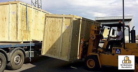Embalajes Guadaíra recomienda embalajes de madera, jaulas y cunas para un transporte industrial más seguro