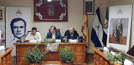 Emotivo homenaje a Rubén Darío en Valdefuentes, Extremadura, España