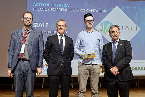 Ganador Premio EmprendedorXXI en Cantabria.