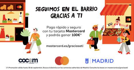 Mastercard, el Ayuntamiento de Madrid y COCEM presentan una iniciativa en apoyo al comercio de proximidad