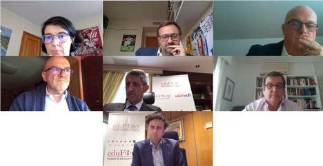 El Proyecto Edufinet de Unicaja refuerza la formación online en educación financiera y organiza una mesa redonda ante el escenario generado por la crisis del coronavirus