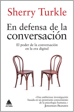 En defensa de la conversación, de Sherry Turkle