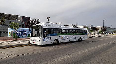 Endesa, Alstom y Mansel prueban en Málaga un sistema pionero de carga rápida por suelo para autobuses eléctricos