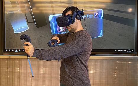 Endesa, de la mano de Minsait, incorpora la realidad virtual para la formación en seguridad de los empleados de generación