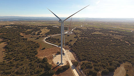 Enel Green Power España comienza la construcción de un parque eólico de 20 MW en Burgos