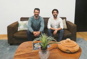 Enrique Benavides, director of Innovation Retail &Asset Services de CBRE España  y Gastón Ortiz Ramos, CEO de Book A Corner.