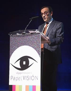 Enrique Isidro, presidente de ASPAPEL.