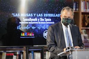Enrique Ossorio, consejero de Educación y Juventud y portavoz del Gobierno regional de Madrid.