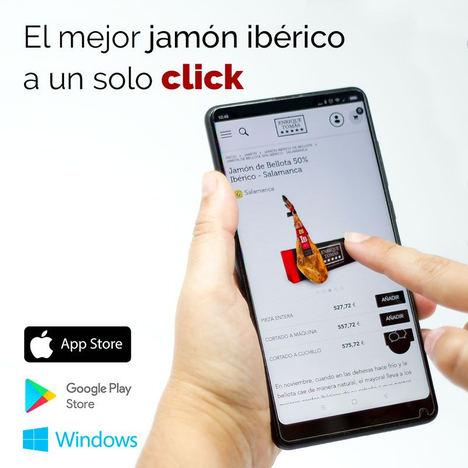 Enrique Tomás lanza su nueva app para comprar jamón ibérico