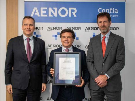 LafargeHolcim, pionera en España en recibir la certificación para el control de producción de una planta de hormigón de AENOR