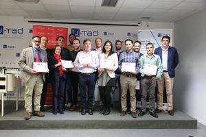 Más de 20 de alumnos de U-tad obtienen una beca Santander para la formación en Big Data, Ciberseguridad y Realidad Virtual