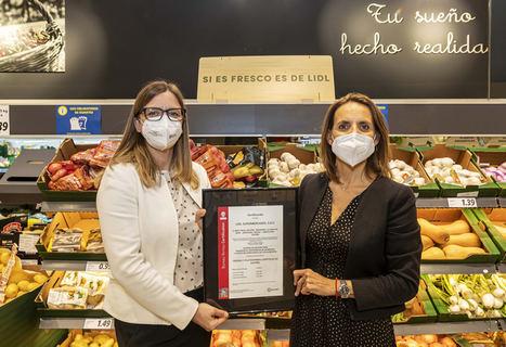 Lidl, primer súper en certificar su gestión de la minimización del desperdicio alimentario
