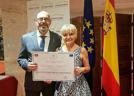 Soluciones Modulares, Medalla de Oro Europea al Mérito en el Trabajo