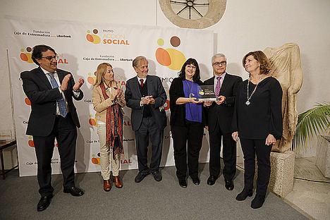 La Fundación Caja de Extremadura entrega su Premio Acción Social