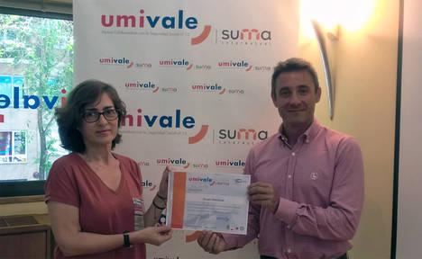 umivale reconoce a Grupo Iberdrola su trabajo en prevención