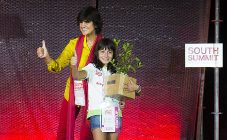 Una alumna del colegio público Ciudad de Najapa de Tres Cantos ganadora del premio The Next Big Thing en #SouthSummit2017