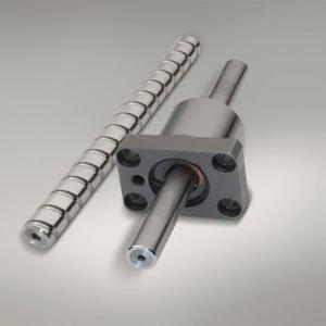 En una nueva serie de husillos a bolas, la tuerca y el eje están diseñados según el principio de emparejamiento aleatorio.
