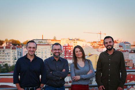 Equipo Faber: Alexandre Barbosa, Carlos Silva, Sofia Santos y Rui Melo de Carvalho.