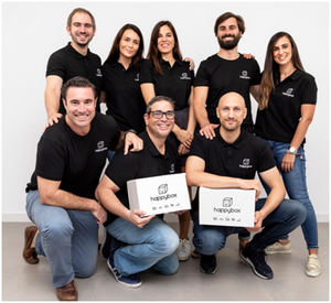 Equipo Happy Box.