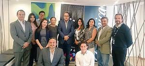 Equipo de GoRaymi,  CEO  de  Telefoncia  Ecuador, Yachay  e IBM y  responsables  de  aceleración del  Crowdworking  Yachay.