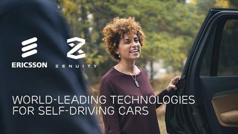 Ericsson y Zenuity se asocian para crear vehículos sin conductor