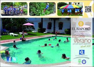 El Balneario El Raposo abre el plazo de inscripción para la 12ª Escuela de Verano ¨Balneario El Raposo¨