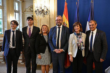 Los Gobiernos de España y Francia consolidan y potencian su cooperación en favor de la Economía Social