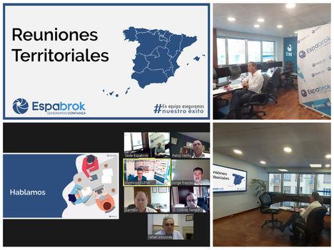 Espabrok celebra reuniones zonales en digital con toda su red de Corredurías