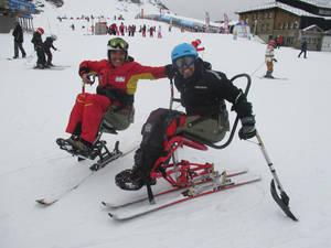 Arranca en Sierra Nevada la temporada de esquí alpino de la Fundación Deporte & Desafío