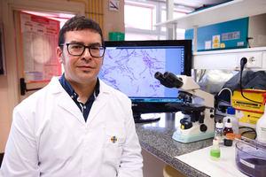 Estanislao Nistal, virólogo y profesor de Microbiología de la Universidad CEU San Pablo.