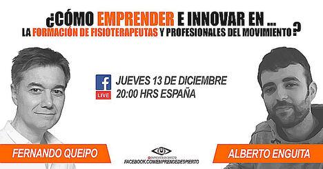 Este jueves 13, entrevista en directo a Fernando Queipo