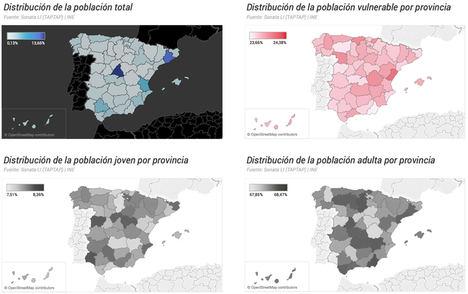 Un análisis geoespacial identifica los territorios más vulnerables al COVID-19
