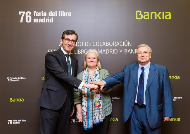 Bankia patrocinar la feria del libro de madrid que acoge for Bankia oficina movil