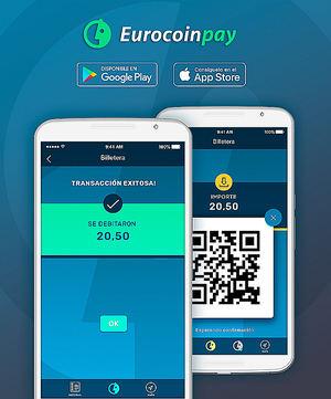 Eurocoinpay lanza la app que permite pagar con criptomonedas en comercios a nivel global