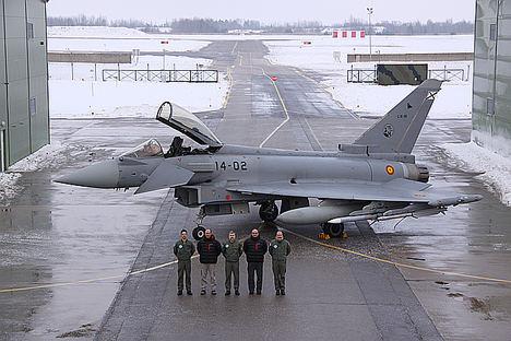 Adjudicado el contrato para el Estudio de las mejoras del subsistema de defensa electrónica del Eurofighter Typhoon