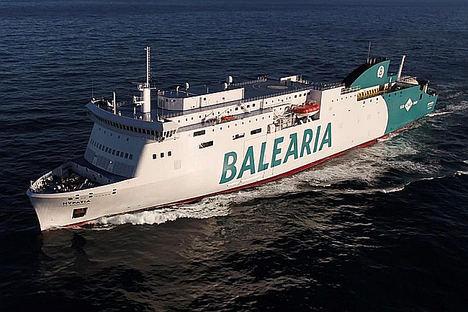 Eurona se refuerza como operador de alta conectividad y servicios a bordo con WiFi y contenidos en una veintena de buques de Baleària