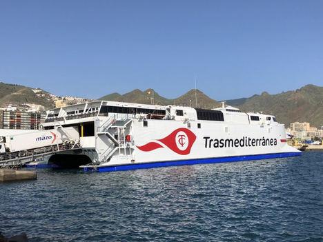 Eurona amplía su contrato con la Naviera Armas Trasmediterránea y conectará su nuevo buque
