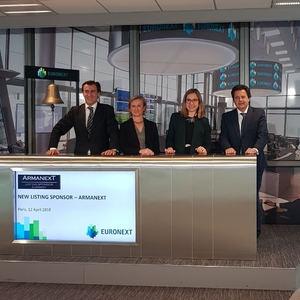 Nace ARMANEXT, primer Listing Sponsor español autorizado por Euronext