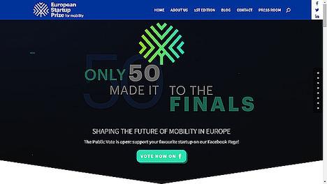 ¡Ya tenemos a los 50 finalistas del European Startup Prize for Mobility de 2019!