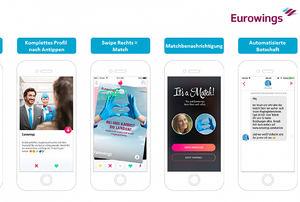 Eurowings, premiada por su campaña de reclutamiento en Tinder