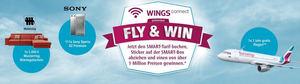 Eurowings presenta la campaña 'Fly&Win', a través de la que se sortearán más de 300 premios