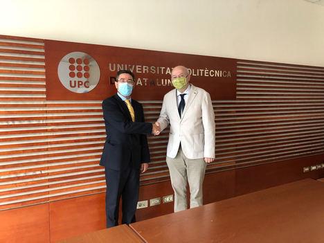 Asepeyo firma un convenio con la Universitat Politècnica de Cataluña para trabajar conjuntamente con la inteligencia artificial